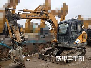陕西-西安市二手柳工CLG908D挖掘机实拍照片