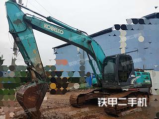 湖南-永州市二手神钢SK210LC-8挖掘机实拍照片