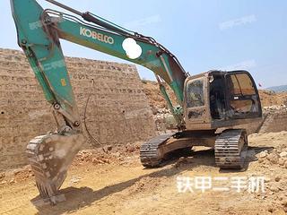 云南-红河哈尼族彝族自治州二手神钢SK210LC-8挖掘机实拍照片