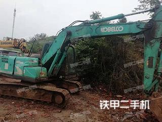 湖北-十堰市二手神钢SK140LC-8挖掘机实拍照片