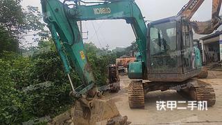 江西-九江市二手神钢SK75-8挖掘机实拍照片