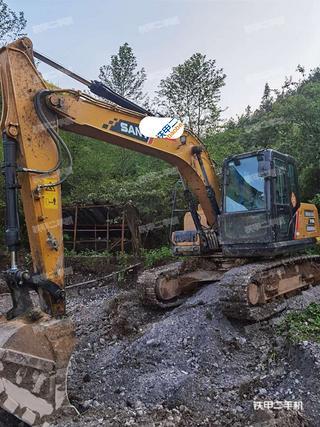 湖南-湘西土家族苗族自治州二手三一重工SY155H挖掘机实拍照片