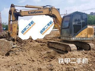 安徽-宣城市二手柳工CLG908D挖掘机实拍照片