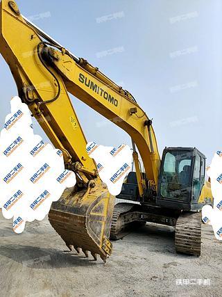 天津-天津市二手住友SH210-6挖掘机实拍照片