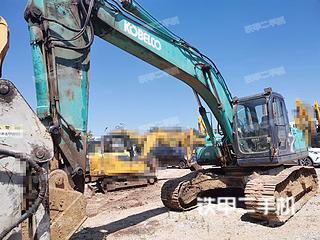 云南-昆明市二手神钢SK210LC-8挖掘机实拍照片