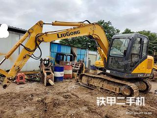 广西-柳州市二手柳工CLG908D挖掘机实拍照片