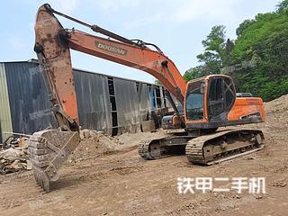 瀘州斗山DX220LC-9C挖掘機實拍圖片
