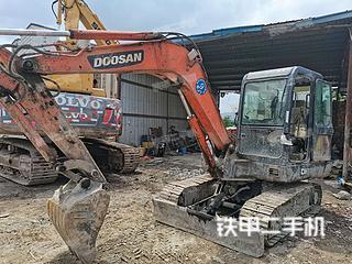福州斗山DH55-V挖掘機實拍圖片