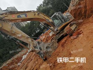 婁底卡特彼勒349D2液壓挖掘機實拍圖片