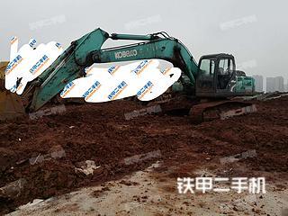 湖南-株洲市二手神钢SK260LC-8挖掘机实拍照片