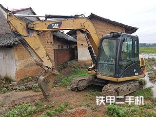 湖南-永州市二手卡特彼勒307D液压挖掘机实拍照片