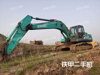 山东-烟台市二手神钢SK260LC-8挖掘机实拍照片