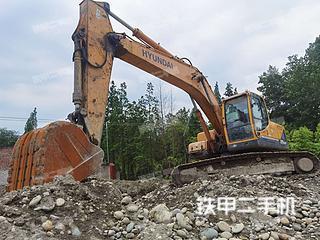 現代R225LC-9T挖掘機實拍圖片