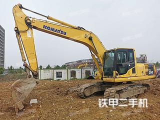 安徽-合肥市二手小松PC200-8挖掘机实拍照片