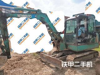四川-成都市二手神钢SK60-8挖掘机实拍照片