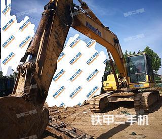 开封小松PC220LC-8挖掘机实拍图片