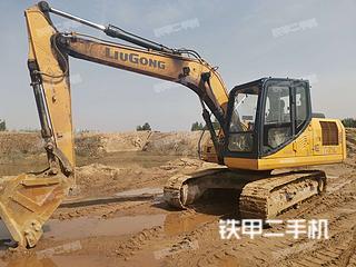 濰坊柳工CLG915E挖掘機實拍圖片