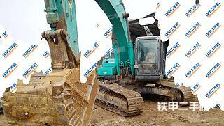 四川-德阳市二手神钢SK260LC-8挖掘机实拍照片