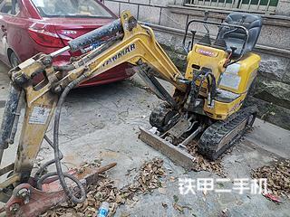 洋馬SV08-1A挖掘機實拍圖片