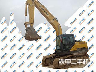 贵州-黔南布依族苗族自治州二手住友SH210-6挖掘机实拍照片