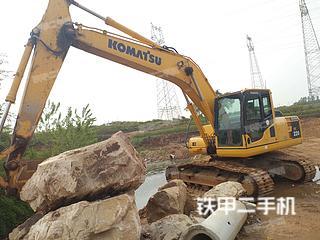 日照小松PC200-8M0挖掘機實拍圖片