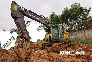 广西-来宾市二手沃尔沃EC140BLC挖掘机实拍照片