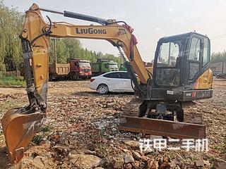 濰坊柳工CLG906E挖掘機實拍圖片