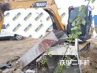 日照三一重工SY55C挖掘機實拍圖片