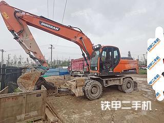 斗山DX210W-9C挖掘機實拍圖片