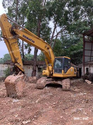 广东-广州市二手小松PC200-7挖掘机实拍照片