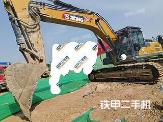 河南-濮阳市二手徐工XE400DK挖掘机实拍照片