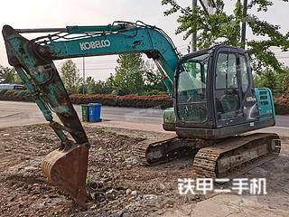 江苏-连云港市二手神钢SK75-8挖掘机实拍照片