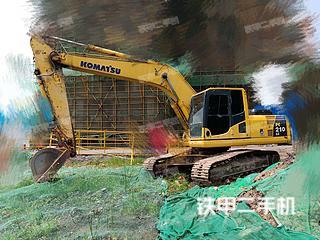 安徽-巢湖市二手小松PC210LC-8挖掘机实拍照片