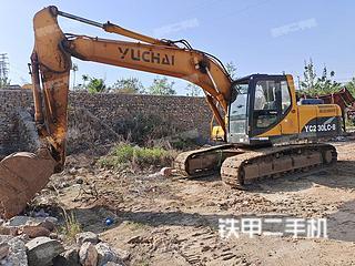 二手玉柴 YC230LC-8 挖掘机转让出售
