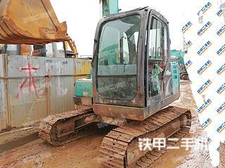 湖南-长沙市二手神钢SK75-8挖掘机实拍照片