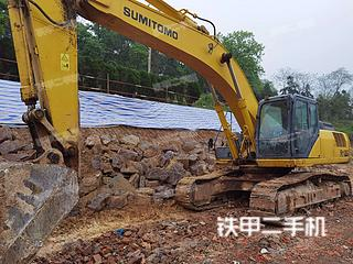 浙江-绍兴市二手住友SH350HD-5挖掘机实拍照片