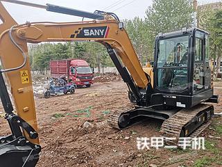 濰坊三一重工SY55C挖掘機實拍圖片