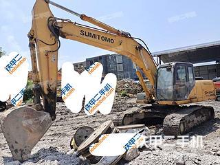 河池住友SH240-5挖掘機實拍圖片