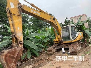 加藤HD820III挖掘機實拍圖片