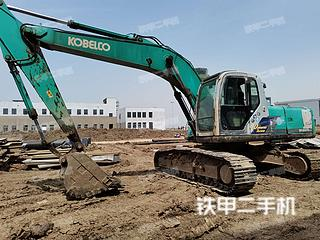江苏-连云港市二手神钢SK210-6E挖掘机实拍照片