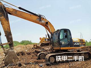 杰西博JS220LC挖掘機實拍圖片