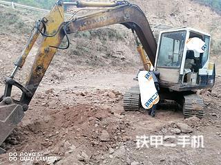 楚雄小松PC60-5挖掘機實拍圖片