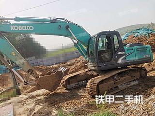 河南-漯河市二手神钢SK210LC-8挖掘机实拍照片