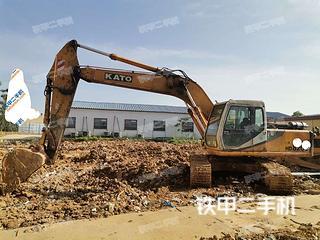 湖南-长沙市二手加藤HD820III挖掘机实拍照片