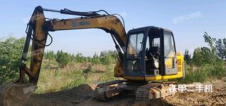衡水徐工XE80A挖掘機實拍圖片