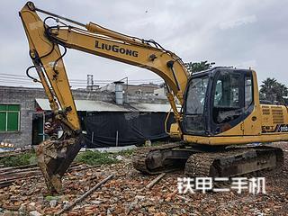 柳工CLG915D挖掘機實拍圖片