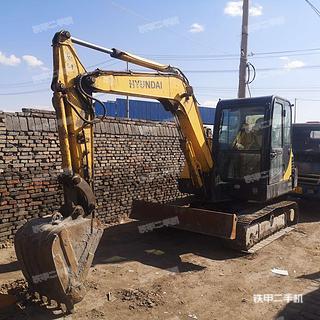 山西-大同市二手现代R55-7挖掘机实拍照片