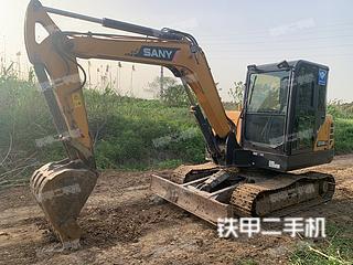 江苏-镇江市二手三一重工SY55C挖掘机实拍照片