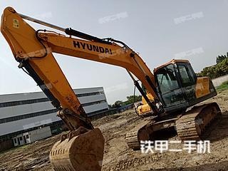 江苏-常州市二手现代R215VS挖掘机实拍照片