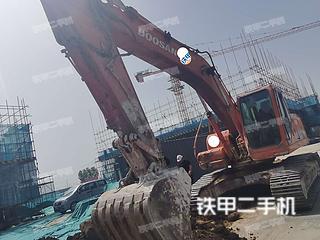 河南-濮阳市二手斗山DH220LC-7挖掘机实拍照片